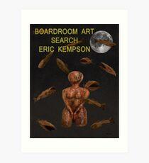 boardroom art Art Print
