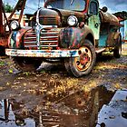 Vintage Dodge Tanker Truck  by CarrieAnn