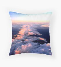 Tori's Clouds Throw Pillow