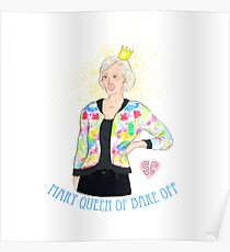 Mary, Queen of Bake Off. Poster