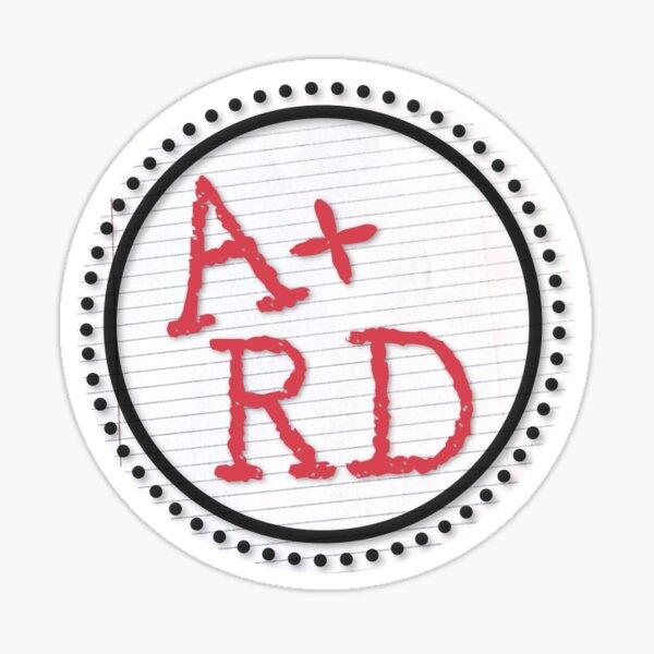 A+ RD Sticker