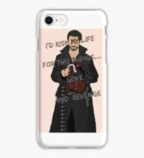 Once Upon A Time Captain Hook/Killian Jones iPhone Case/Skin
