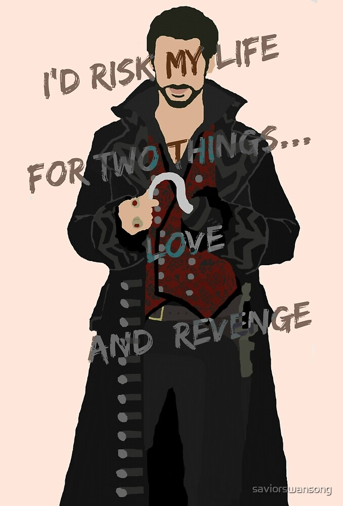 Once Upon A Time Captain Hook/Killian Jones by saviorswansong