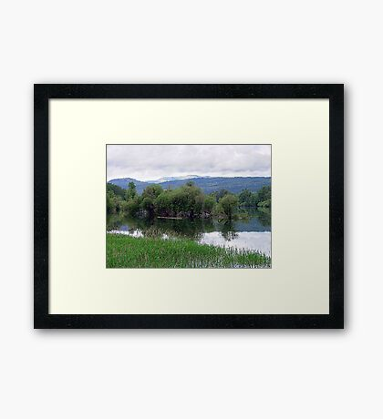 Lake Mara (4) Framed Print