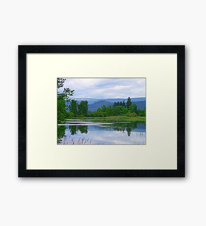 Lake Mara (5) Framed Print