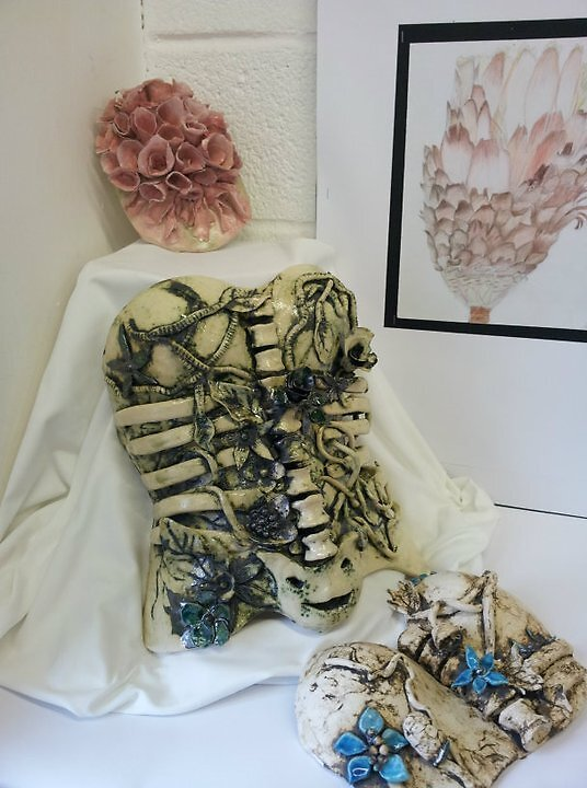 Ceramic Corset by Sally Connolly