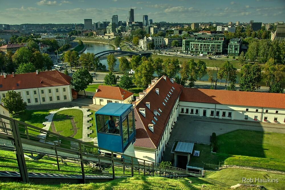 Vilnius Skyline  by Rob Hawkins