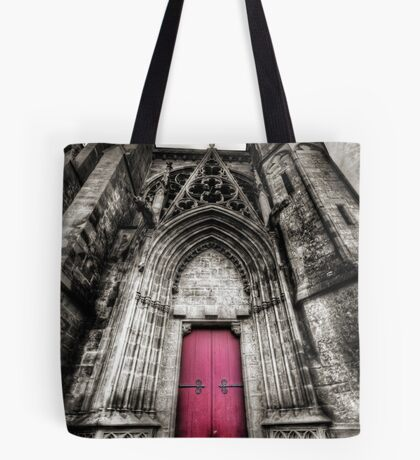 Carcassonne Cathedral Tote Bag
