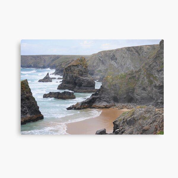 Rugged Coastline Metal Print