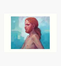 The Man with Red Hair Art Print