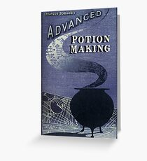 Libatius Borage's Advanced Potion Making  Greeting Card