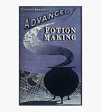 Libatius Borage's Advanced Potion Making  Photographic Print