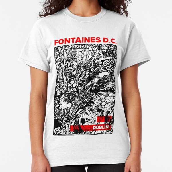 Fontaines DC irish post punk Dublin Classic T-Shirt