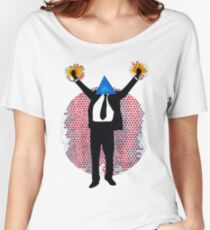 The ever triumphant triangle man Women's Relaxed Fit T-Shirt