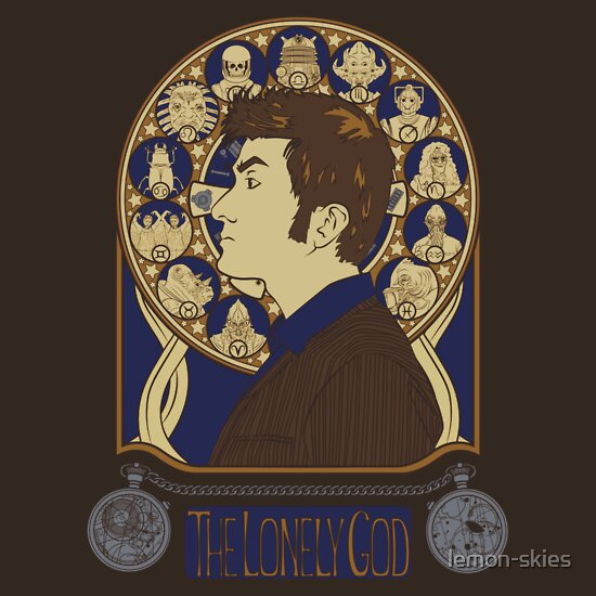 TShirtGifter presents: The Lonely God - Doctor Who