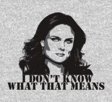 Bones - Temperance Brennan in black | Unisex T-Shirt