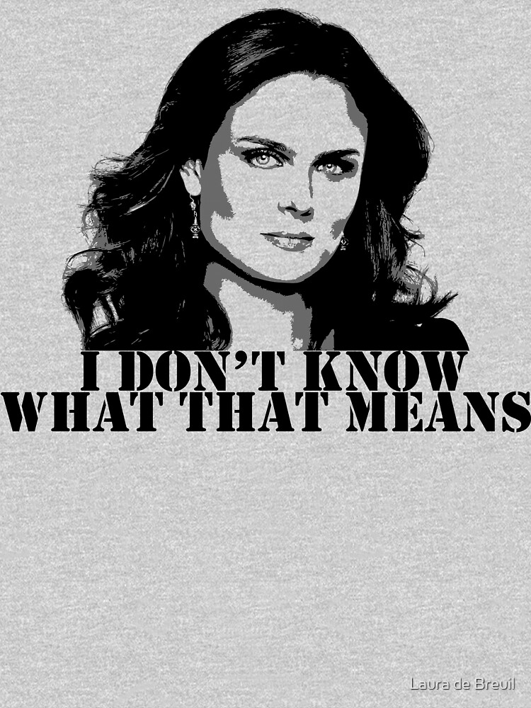 Bones - Temperance Brennan in black | Unisex T-Shirt