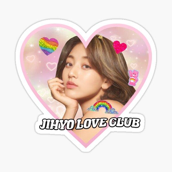 JIHYO love club Sticker