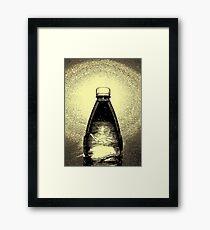 Agua Embotellada Framed Print