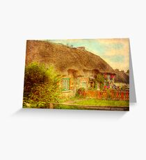 Cottage Life - Adare, Southern Ireland Greeting Card