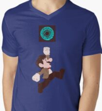 Mario Who? Men's V-Neck T-Shirt