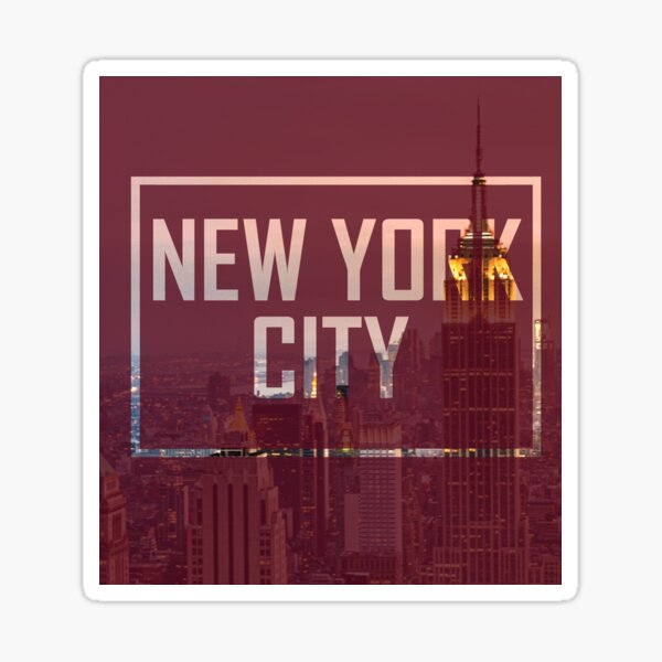 I LOVE NEW YORK 2 Sticker