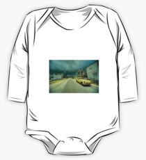 Yellow storm car  One Piece - Long Sleeve