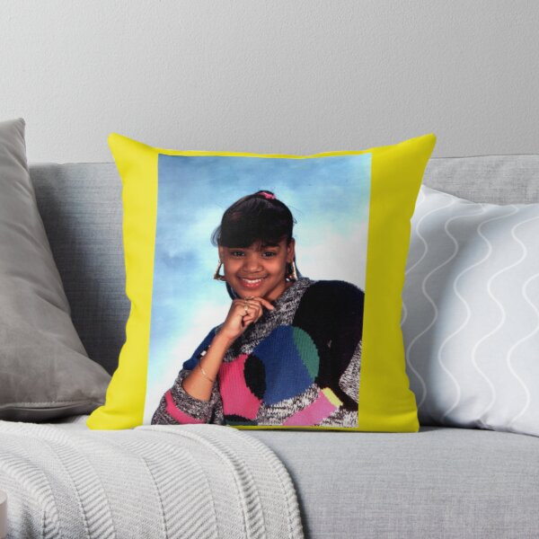 Teenage Lefteye Throw Pillow