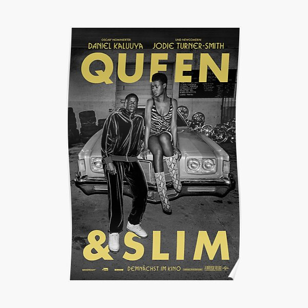Queen & Slim Póster