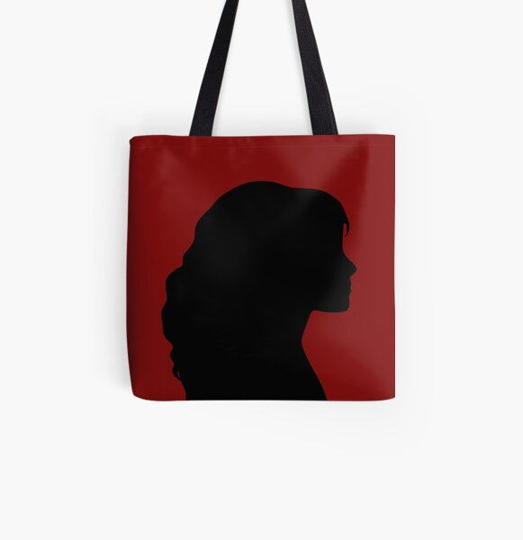 Silhouette All Over Print Tote Bag