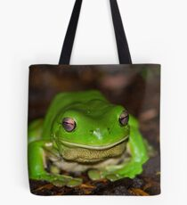 green tree frog South East Queensland Tote Bag