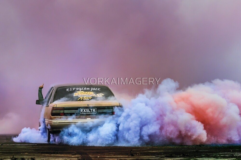 EX5LTR UBC Burn Out by VORKAIMAGERY