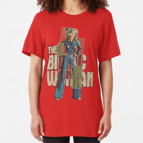 The Bionic Woman Slim Fit T-Shirt