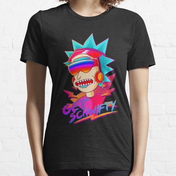 get schwifty Rick and Morty retro Essential T-Shirt
