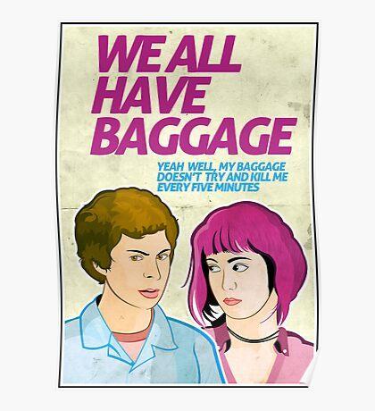 Baggage | Scott Pilgrim Poster