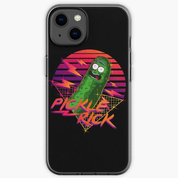 pickle rick  iPhone Soft Case