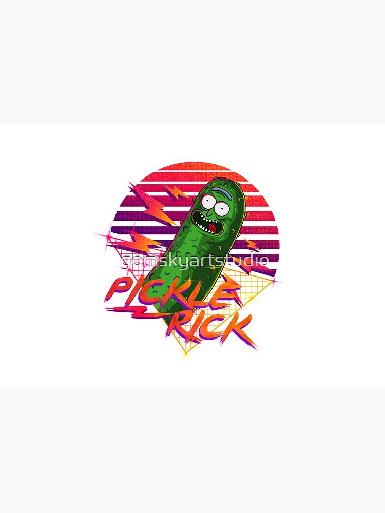 pickle rick  by gomskyartstudio