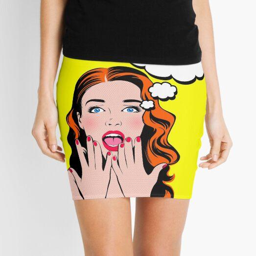 Pop Art 5 Minifalda