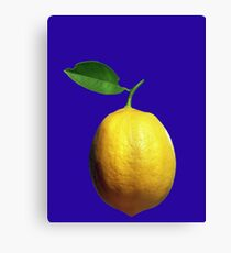 This is a lemon Canvas Print