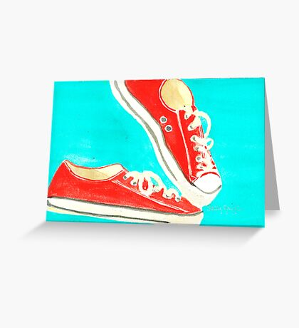 Chucks Greeting Card