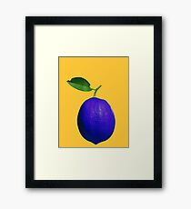 This is not a lemon Framed Print