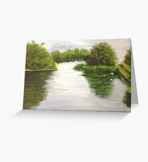 Quiet Day Greeting Card