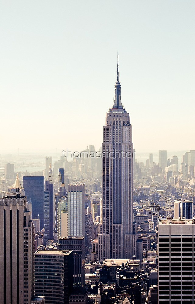 New York City, Empire State Building | iPhone/iPod by thomasrichter