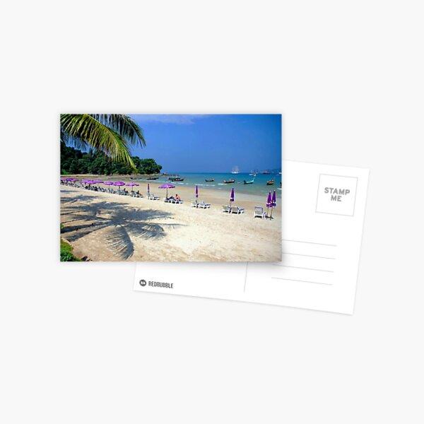 Sunny beach....!! Postcard