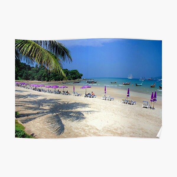Sunny beach....!! Poster