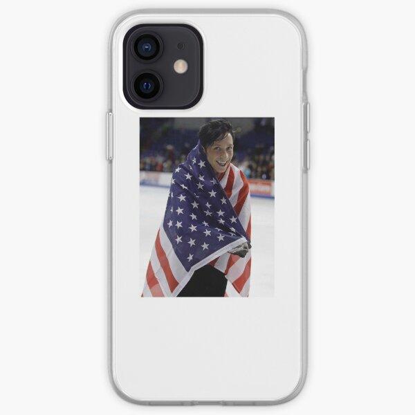 Johnny Weir American Flag iPhone Soft Case