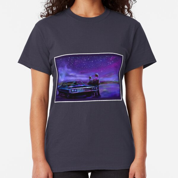 Impala Nights- Sam and Dean Classic T-Shirt