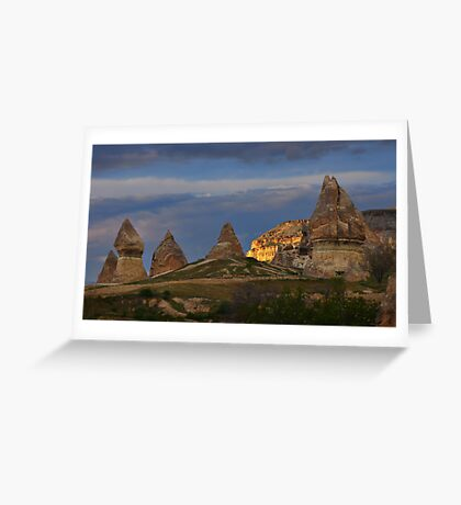 Fairy Chimneys and Mountain Greeting Card