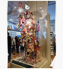 New York 9/11 Mannequins Poster