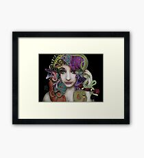 Gorgon's Gaze Framed Print